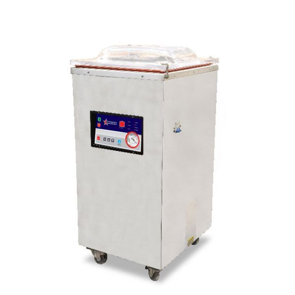 Floor Model Heavy-duty Vacuum Packaging Machine with 1.2 HP and Single Seal Bar