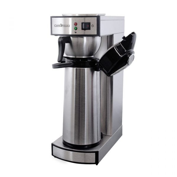 Stainless Steel Coffee Maker with 2-Liter Air Pot capacity