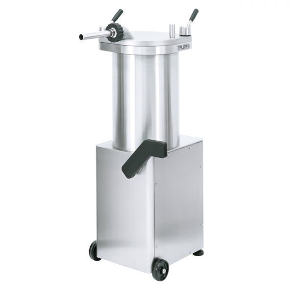 Stainless Steel Hydraulic Piston Sausage Stuffer-65 lb capacity (110V-60Hz-1Ph)