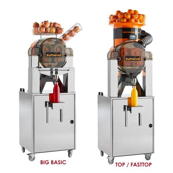 Self Service Stand for Basic, Big Basic, Top, and Fasttop Zumoval Juice Extractors