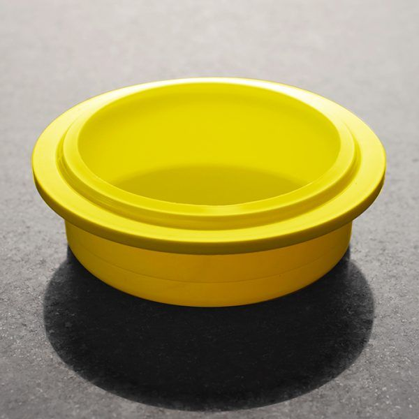 Plastic Yellow Beaker Lid