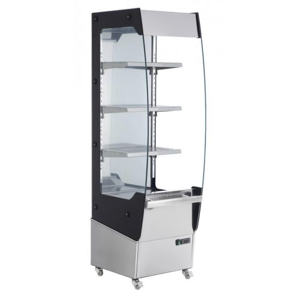 19-inch Floor Display Warmer with 220 L capacity