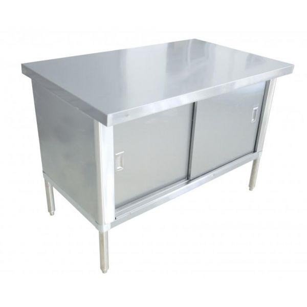 30 x 48 430 Stainless Steel Knock-down Worktable-Flush Edge