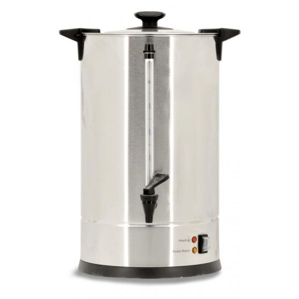 9.6L - 2.53 Gallon Stainless Steel Coffee Percolator-65 cups per hour