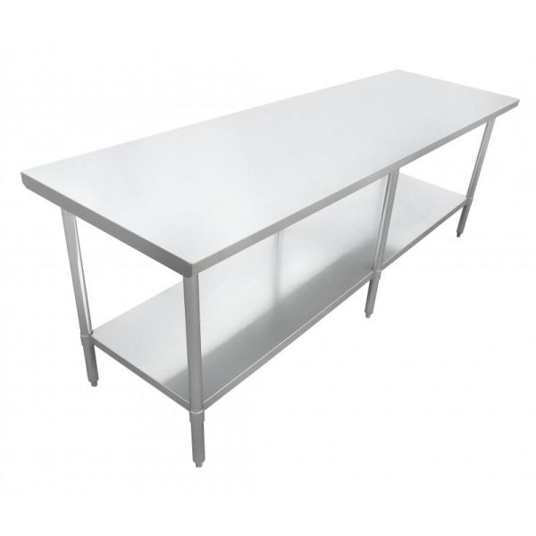 24 x 96 All Stainless Steel Worktable